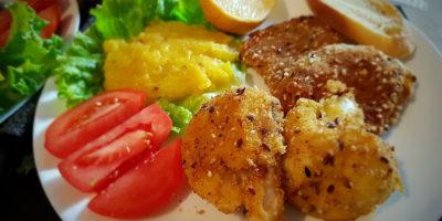 Pohani karfiol, soja i pire od bundeve