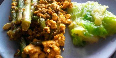 Fritaja od šparoga i tofua
