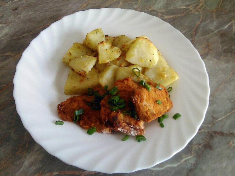 Pohovana soja i krompiri