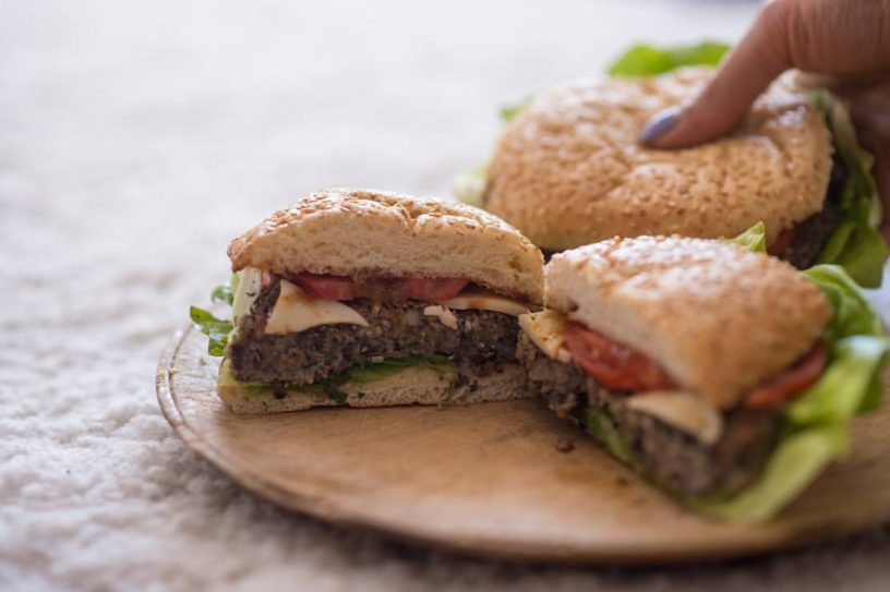 Veggie burger od graha by Suzi