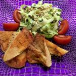 Vrbovača sa salatom od tikvica