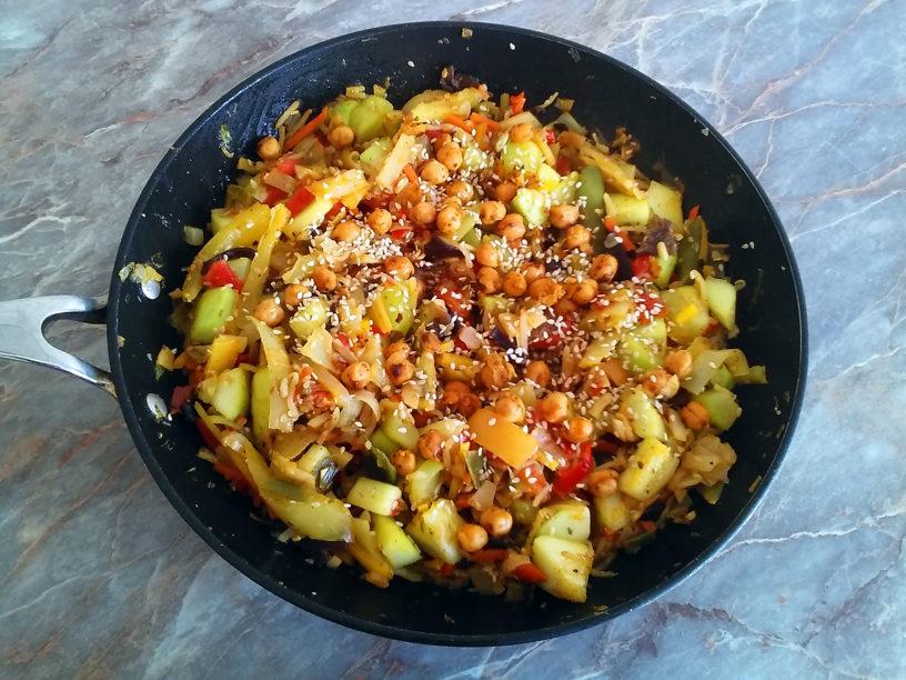 Azijski stir fry / sataraš — VegCook.net