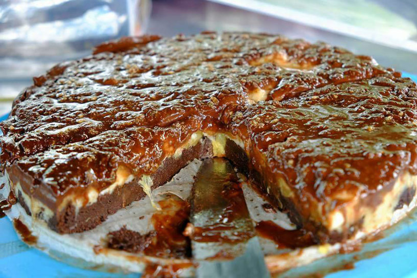 Ananas torta — VegCook.net
