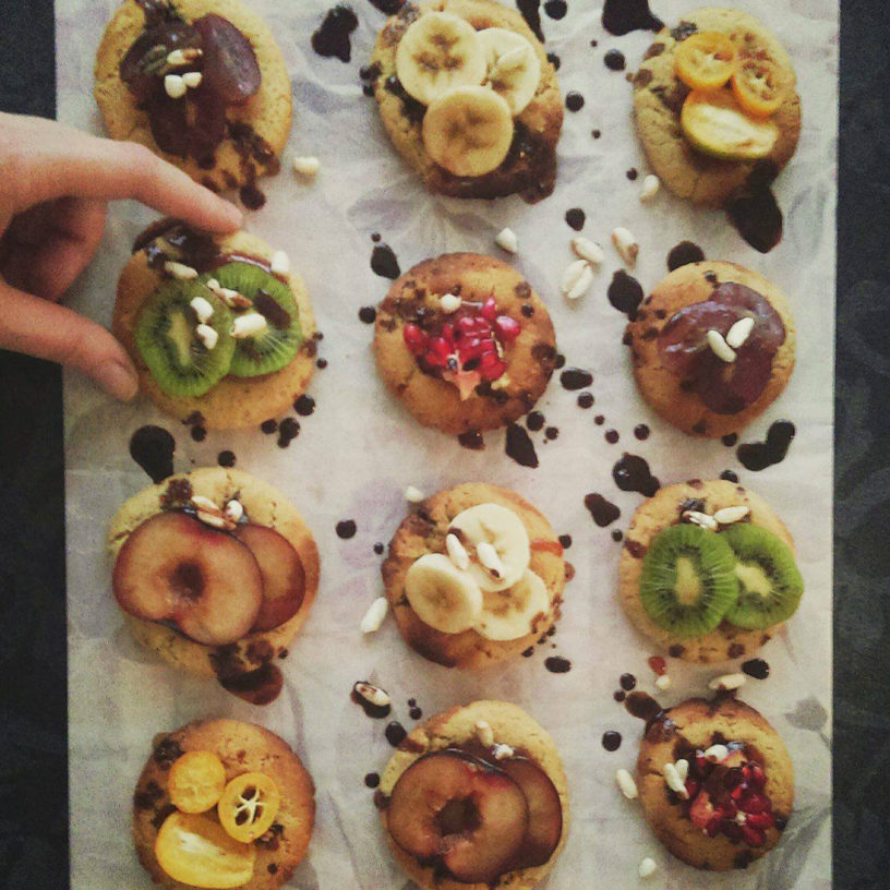 Vegan kolačići od kikiriki putera