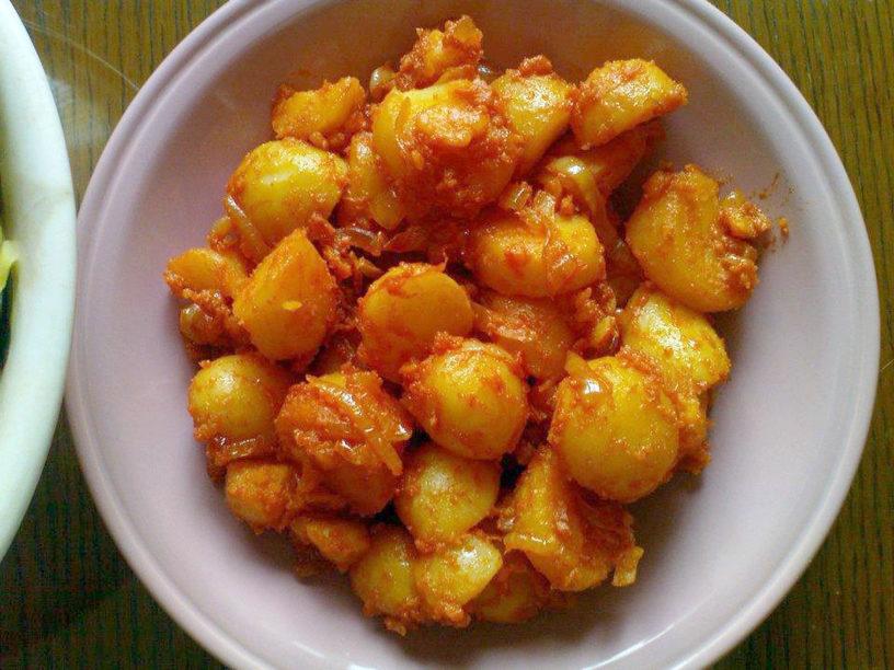 Krumpir s crvenom paprikom