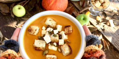 Granny's smashing pumpkin soup